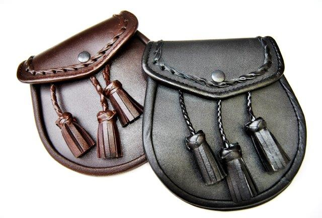 Sporran (leather)