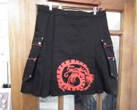Applique kilt
