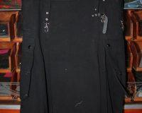 black cargo kilt