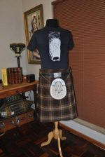 Wolf T-shirt for Kilt