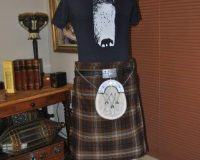Wolf T-shirt for Kilt