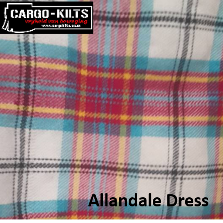 Allandale Dress Tartan Kilt