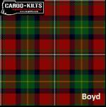 Boyd Tartan Kilt