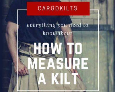 How to measure a kilt