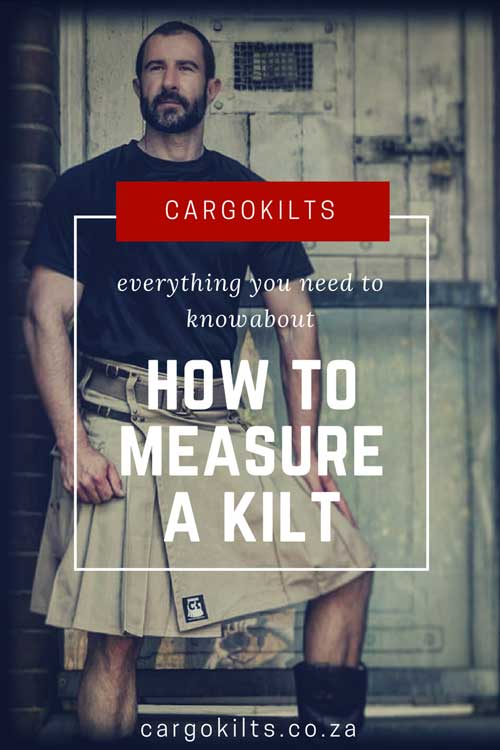 How to measure a kilt